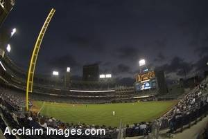 Stock Photo Of Petco Park, California, Wide-Angle