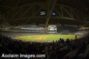 Photo: Wide-Angle View of Petco Park - 2004