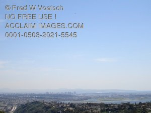 View of San Diego from Mt. Soledad