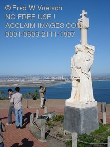 Clip Art Stock Photo of Cabrillo National Monument
