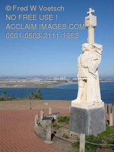 View of San Diego from The Cabrillo National Monument