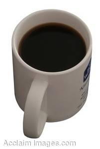 Stock Photo of a Coffee Cup, Full of Coffee