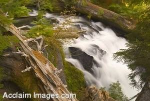 Stock Photo of National Creek Falls