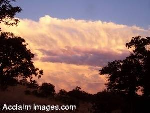 Stock Photography of Storm Clouds