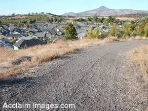 Stock Photo of Homes in Southern Oregon's Rogue Valley