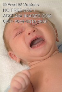 Crybaby Clip Art Stock Photo