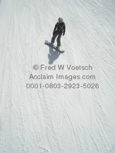 Picture of a Snowboarder