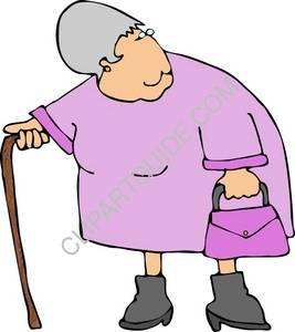 clipart of old woman with a cane rh clipartguide com old woman cartoon clipart old woman cartoon clipart