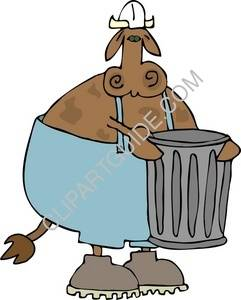 Garbage Cow
