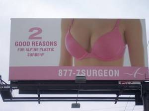 2 GOOD REASONS FOR ALPINE PLASTIC SURGERY 877-7SURGEON