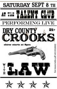 Dry County Crooks Flyer