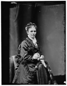 Picture of Mrs. James Garfield