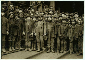 Free Picture of Breaker Boys Coal Miners