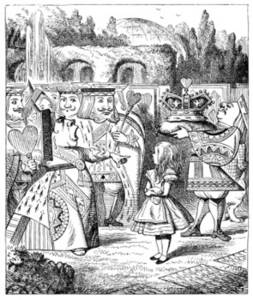 """Free Picture of """"Off with Her Head!"""" from Alice in Wonderland"""
