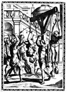 Free Illustration of Christian Martyrs Being Tortured