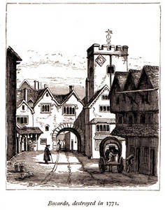 Free Picture of Bocardo, Oxford, England, 1771