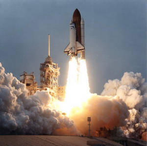 Free Photo of Space Shuttle Endeavour Lift Off