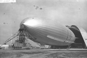 Free Photo of a WWll Airship