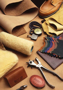 Photo of Leather and Crafting Tools