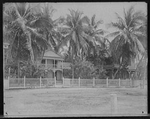 Free Photo of a Mansion in Palm Grove, Key West, Fla.