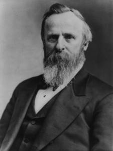Free Photo of President Rutherford B. Hayes, 1877