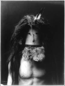 Free Photo of a Haschebaad Masked Navaho Indian Brave