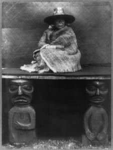 Free Picture of Kwakiutl Woman-Daughter of a Nakoaktok Indian Chief