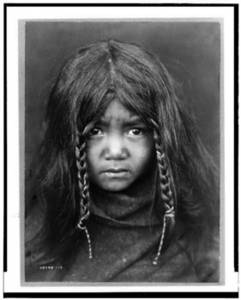 Free Photo of a Quilcene Indian Boy
