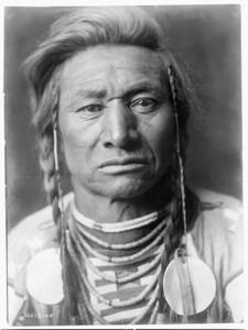 Free Photo of a Chief Child of the Crow Nation