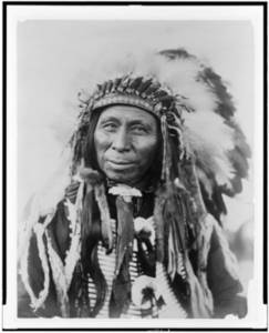 Free Picture of Black Thunder-Sioux Indian Chief