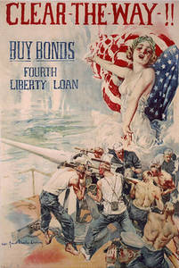 Free Picture of a Liberty Bonds Poster from WWI