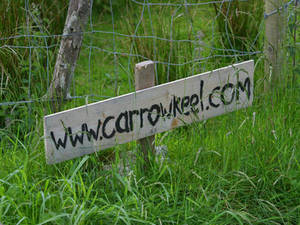 Free Picture of a Sign for Carrowkeel.com, Ireland's Sacred Island