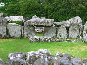 Free Picture of The Court Stones at Creevykeel in Ireland