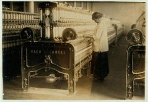 Free Photo of Worker at Indian Springs Mill