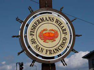 Free Photo of The Sign at Fisherman's Wharf in San Francisco