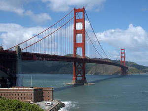 Free Photo of San Francisco's Golden Gate Bridge. Click Here to Get Free Images at Clipart Guide.com