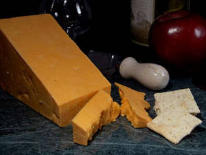 Free Photo of Red Leicester Cheese