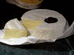 Free Photo of a Wheel of Camembert Cheese