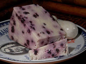 Free Photo of Blueberry Stilton Cheese