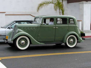 Free Photo of an 4-door, Willy's Model 77, Early 1930's, Sedan