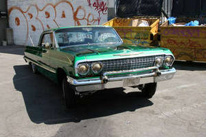 Free Photo of a Restored, Green, 1963 Chevrolet Impala