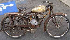 Free Photo of an Old, Rusty, Motorized Bicycle