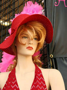 Free Photo of a Mannequin In a Red Hat