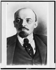 Free Picture of Vladimir Il'ich Lenin, Russian Revolutionary, 1920