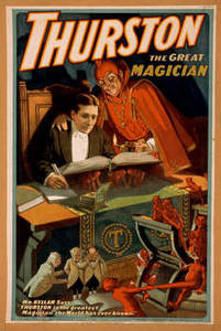 Free Picture of Thurston the Magician Show Poster, 1910