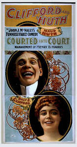 """Free Photo of a Vintage Playbill for John J. McNally's """"Courted Into Court"""", 1897"""