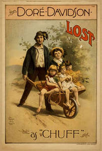 """Free Picture of the Playbill for """"Lost"""" Starring Dore and Davidson"""