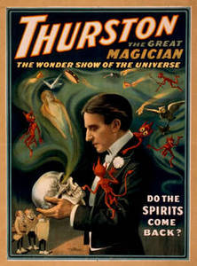 Free Picture of Thurston the Magician Show Poster