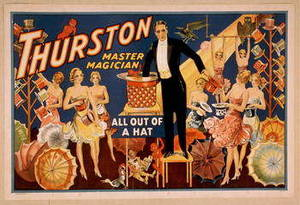 Free Picture of Thurston the Magician Theatrical Flyer