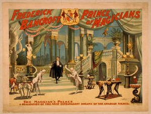 Free Picture of a Vintage Poster for F. Bancroft, Prince of Magicians